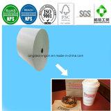 Doppeltes versieht PET überzogenes Papier für das Dunkin Schaumgummiring-Nachtisch-Verpacken mit Seiten