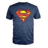 100%Cotton 수퍼맨 고전적인 로고 남자의 t-셔츠