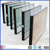 Insulated Glass/Hollow Glass/Doubles Glazing Glass with Clear gold Tinted Reflective Tempered, Laminated, Low E, for Window Building