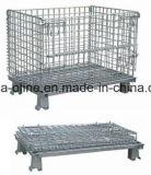 Jaula del almacenaje del acoplamiento de alambre de acero (800*500*540)