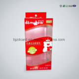 Fancy Folding Packaging Small Clear Hard Plastic Box com bloqueio
