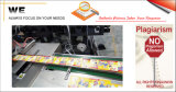 Machine van de Verpakking van het cellofaan 3D (K8010106)
