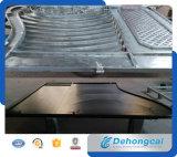 Grille résidentielle élégante de fer travaillé de sûreté (dhgate-11)