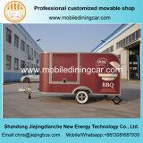 販売のためのBBQの食糧トレーラー、食糧カートおよび食糧トラック