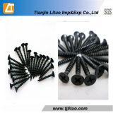 Carbon Steel DIN18182 Black Phosphate Fine Thread Drywall Screw