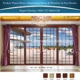 Portelli esterni di alluminio dei portelli interni di colori differenti