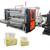 Papier de soie de soie se pliant gravant en relief de machine de tissu d'attraction faisant la machine