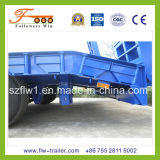 15m 3axle Lowbed Semi Trailer