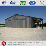 Construction préfabriquée de structure métallique de coût bas