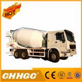 HOWO 상표 20cbm 4 차축 8X4 구체 믹서 트럭