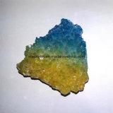 L'alone del Aqua della pietra semi preziosa ragruppa gruppo di terminali del cristallo di colore di Aur di angelo il multi