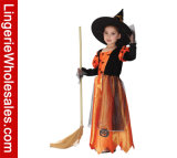 Princess Cosplay Costume тыквы платья партии Halloween девушок