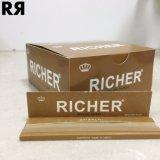 Un papel de balanceo más rico del cigarrillo del arroz 14GSM con extremidades de filtro