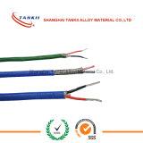 Câble de thermocouple type J jauge 25 câble isolé fil FEP (type JX)