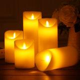 リモート・コントロールの卸し売りダンスの炎LEDの蝋燭