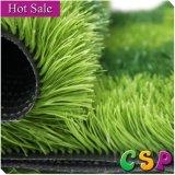 Boa grama artificial sintética de venda do futebol da cor 2 verde