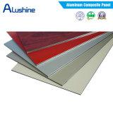 Painel composto de alumínio PVDF Folha ACP para revestimento de parede exterior (1220 * 2440 * 4mm)