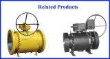 Vávula de bola metal sobre metal del muñón para el uso industrial