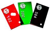 Cortar la hoja de acrílico de la fluorescencia verde (233) o la hoja de PMMA