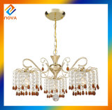 Modern Down Crystal Chandelier Lighting para sala de estar