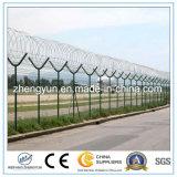 Frontière de sécurité protectrice crantée d'aéroport de frontière de sécurité de fil