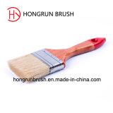 De houten Borstel van de Verf van het Handvat (HYW019)