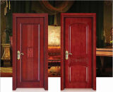 贅沢で特別な固体木のドア