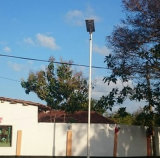 Het geïntegreerdee ZonneLicht van de Tuin van Straatlantaarns Zonne met de Sensor van de Motie