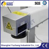 Неподвижная машина маркировки лазера карточки металла