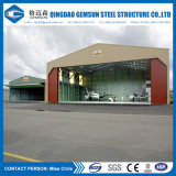 中国の供給のプレハブはサンドイッチパネルの鋼鉄小屋を設計した