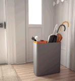 Uispair 100%のオフィスのホームホテルの装飾のための鋼鉄現代玄関の家具の傘ラック