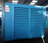 Extraction à l'extérieur du compresseur d'air lourd de vis d'utilisation de porte