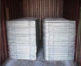 barriera d'acciaio galvanizzata 1.1mx2.2m di controllo di folla con i piedi saldati