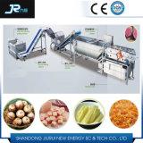 Alimento de mar Multifunctional do aço inoxidável que lava a máquina de Peeler