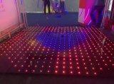 P10cm LEIDEN van het Comité van de Disco Acryl RGB Door sterren verlicht VideoDance Floor voor het t-Stadium van de Club van de Nacht van het Huwelijk Huwelijk