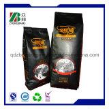 Heißer Verkaufs-China-Kaffee-verpackenbeutel mit seitlichem Stützblech