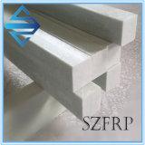 Perfil de tubo quadrado pultrudado de fibra de vidro FRP
