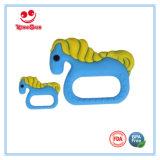 Новой персонализированные прессформой игрушки Teething силикона для младенцев