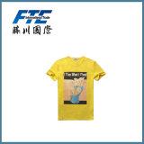 T-shirt simple/T-shirt fait sur commande/T-shirt d'hommes