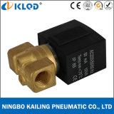 Materielles unmittelbares normalerweise geschlossenes MiniVx2130-10 Messingmagnetventil
