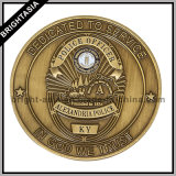 Promotional Gifts (BYH-10780)のための習慣3D Two Sides Coin