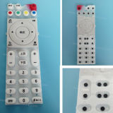 Boutons poussoirs à télécommande universels en caoutchouc de Keypress de silicones