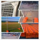 ASTM 4678 galvanizó la cerca temporal de Australia usada para el emplazamiento de la obra