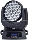 lumière principale mobile légère du DJ DEL d'étape de lavage de zoom de 108PCS x de 3W