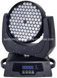 108PCS x 3W 급상승 세척 단계 DJ 가벼운 LED 이동하는 맨 위 빛