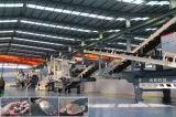 Bewegliche Zerkleinerungsmaschine-Station 100 Tonne pro Stunde