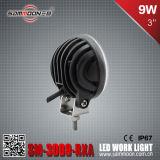 IP67 3 luz del coche del trabajo de la pulgada 9W (3PCS*3W) LED con el CE RoHS ECE (SM-3009-RXA)