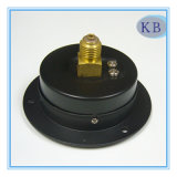 Черный стальной манометр D63mm