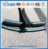 Le fil d'acier d'En853 1sn/2sn a tressé le tuyau en caoutchouc, conception adaptée aux besoins du client