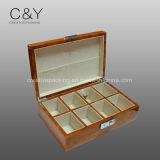 Хранения вахты узелка лака отделки рояля 6 шлицев коробка деревянного упаковывая